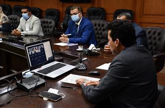 وزير الرياضة والسفير الإماراتي يشهدان توقيع مذكرة تفاهم بين الوزارة ومؤسسة زايد