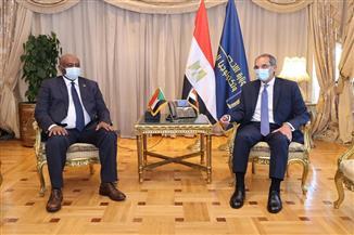 «طلعت» يستقبل نظيره السوداني لتعزيز التعاون في مجال الاتصالات وتكنولوجيا المعلومات   صور