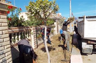 محافظ كفرالشيخ يتابع حملات النظافة وتحسين المرافق والخدمات بمصيف بلطيم | صور