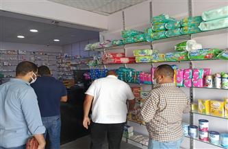 غلق صيدلية مخالفة خلال حملة للتفتيش على الصيدليات بسفاجا | صور