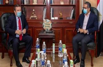 سفير أوكرانيا بالقاهرة يشيد بجهود الدولة المصرية لدعم القطاع السياحى