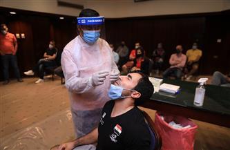 المشاركون ببطولة العالم للجمباز يخضعون للمسحة الطبية | صور