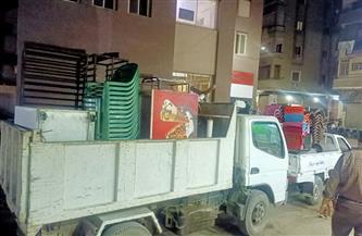 إنذارات لـ6 منشآت تجارية في حملة بحي الجمرك بالإسكندرية