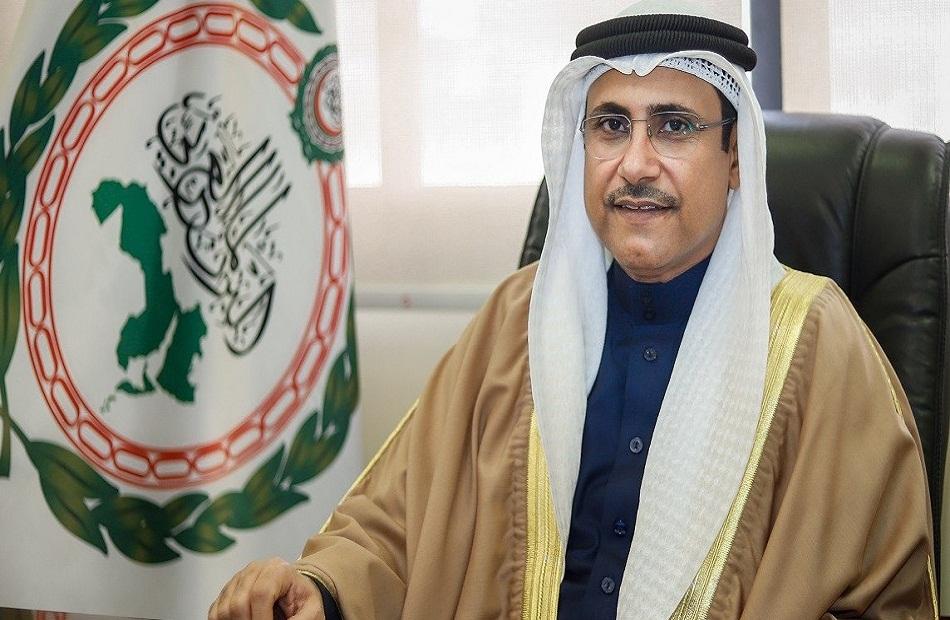 العسومي يؤكد دعم البرلمان العربي الكامل للعراق بكافة مكوناته