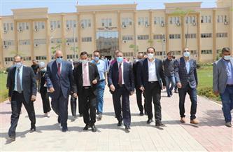 محافـظ المنوفية يزور جامعة الدلتا التكنولوجية بقويسنا | صور وفيديو