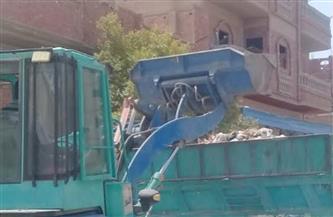 حملة للنظافة ورفع الإشغالات في عدة مناطق بسفاجا  صور