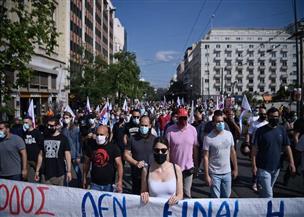 مظاهرات وإضرابات ضد قانون العمل في اليونان