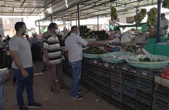 مدينة القصير تشن حملة تفتيشية على سوق الخضار |صور