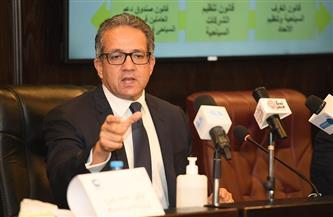 وزير السياحة والآثار: شكلنا لجنة أزمات لمواجهة أزمة كورونا | صور