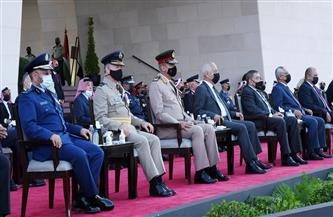 وزير الدفاع يعود إلى أرض الوطن بعد زيارته للأردن | صور