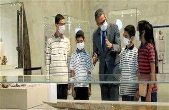 تفاصيل جولة وزير السياحة والآثار بالمتحف القومي للحضارة المصرية