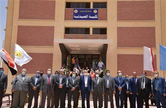 جامعة الوادي الجديد تستقبل لجنة قطاع العلوم الصيدلية بالمجلس الأعلى للجامعات | صور