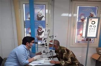 الكشف على 1464 مواطنًا خلال قافلة جامعة المنصورة الطبية بمدن البحر الأحمر | صور