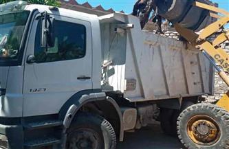 حملة لرفع المخلفات والقمامة من 9 مناطق بحي المنتزه أول بالإسكندرية|صور