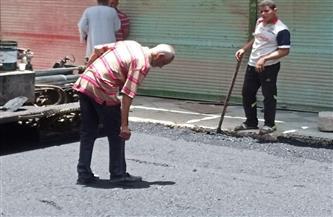 بدء أعمال رصف شوارع مدينة المراغة بتكلفة 2.9 مليون جنيه |صور