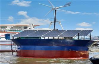 """""""التعليم العالي"""": تصميم محطة عائمة متنقلة لتحلية مياه البحر تعمل بالطاقة الشمسية والرياح  صور"""