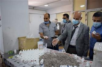 ضبط مصنع غير مرخص لتصنيع وتعبئة الأدوية المغشوشة بالشرقية |صور