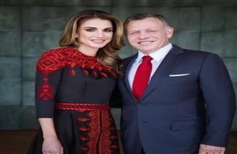 الملكة رانيا تحتفل بعيد زواجها من الملك عبد الله الثاني