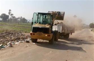 حملات نظافة وإزالة الإشغالات في ديروط  صور