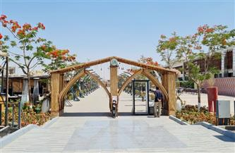 رئيس جهاز الشيخ زايد: الانتهاء من تنفيذ الممشي السياحى كمتنزه لسكان المدينة صور