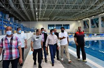 وزير الشباب يتفقد المدينة الرياضية بالعاصمة الإدارية