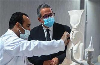 وزير السياحة والآثار: مصنع المستنسخات الأثرية الأول من نوعه في مصر والشرق الأوسط