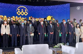 رئيس الوزراء يلتقط صورة تذكارية مع رؤساء هيئات الاستثمار الإفريقية |صور