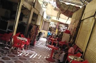 مصادرة  9 «شيش» في مقهي خلف السوق السياحي بالأقصر  صور