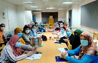 «صحة سوهاج» تعقد اجتماعا «للزمالة المصرية» لضم المستشفيات إلى البرنامج| صور
