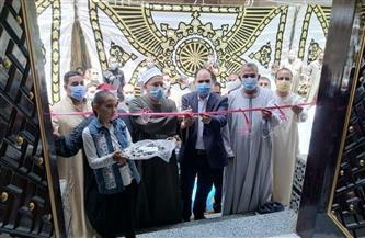 نائب التنسيقية يفتتح مسجد الروضة الشريفة في بنها | صور