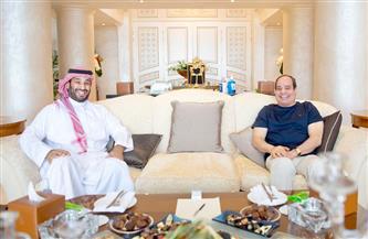 الرئيس السيسي: أؤكد اعتزازي الدائم بالعلاقات المتميزة التي تربط مصر والسعودية