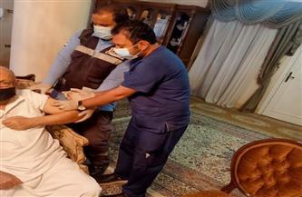 «صحة الدقهلية» تواصل تطعيم غير القادرين على الحركة بلقاح كورونا