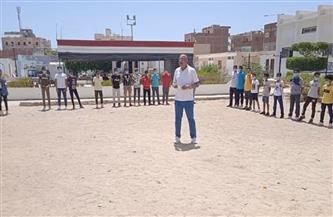 انطلاق مشروع معسكر اليوم الواحد بالبحر الأحمر| صور