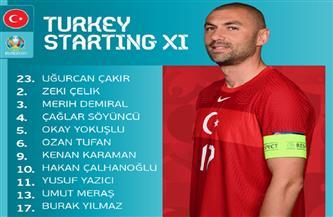 بوراك يالمز يقود هجوم تركيا أمام إيطاليا بافتتاح «يورو 2020»