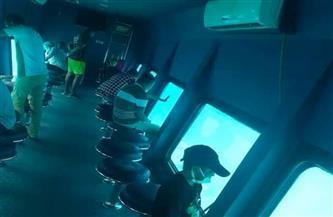 رحلة ترفيهية بغواصة بحرية لمرضى الغسيل الكلوي بالغردقة