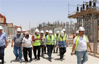 """مسئولو جهاز """"السادات"""" يتفقدون محطة محولات كهرباء لتغذية المنطقة الصناعية الثامنة صور"""