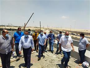 مسئولو «جهاز 6 أكتوبر» يتفقدون مشروع تقاطع 8 «كوبري/ نفق» | صور