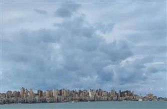 سحب وأمطار على الإسكندرية