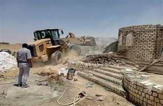 محافظ الفيوم: إزالة 33 حالة تعدِ بالبناء على الأراضي الزراعية وأملاك الدولة|صور