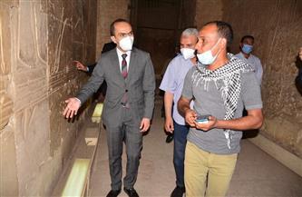 نائب محافظ سوهاج يتفقد المنطقة الأثرية بأبيدوس | صور