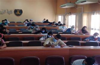 جامعة مطروح: انتظام الامتحانات بجميع الكليات في أسبوعها الثاني وسط إجراءات احترازية مشددة   صور