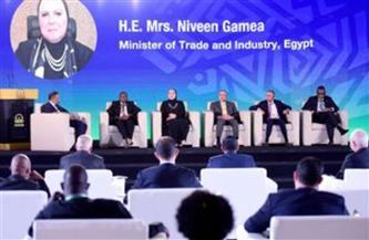 وزيرة التجارة: مصر تولي أهمية كبيرة لتحقيق التكامل الاقتصادي الإقليمي بالقارة الإفريقية