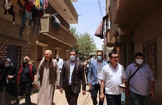 """نقابة المهندسين بأسيوط تتفقد قرى مبادرة """"حياة كريمة"""" بمركز ساحل سليم/صور"""