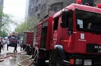 ماس كهربائي يتسبب في نشوب حريق بصيدلية في شربين