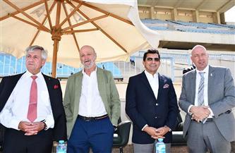 وزير الرياضة يشهد نهائيات منافسات «ليزر- رن» ضمن بطولة العالم للخماسي الحديث