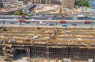 استمرار إزالة تعارضات توسعة الطريق الدائري في أحياء مصر القديمة والبساتين ودار السلام