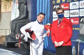 المجرية جولياس تتصدر منافسات السلاح في نهائي بطولة العالم للخماسي الحديث