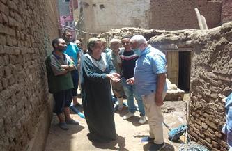 رئيس شركة مياه المنوفية يتابع ميدانيًا مشكلات المواطنين بقرية طوخ دلكا بتلا | صور