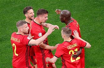 لوكاكو يسجل الهدف الأول لبلجيكا فى شباك روسيا بـ «يورو 2020»