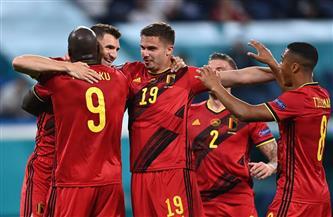 مونايى يضيف الهدف الثانى لبلجيكا فى شباك روسيا